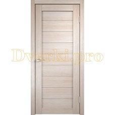 Дверь X-1 лиственница кремовая, глухая