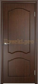 502, Дверь Лидия венге, глухая, 11609, 3 600.00 р., 502-01, , Двери облицованные ПВХ