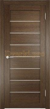 2383, Дверь ЭКО 04 венге мелинга, остекленная, 21623, 3 750.00 р., 2383-01, , Двери Eldorf экошпон
