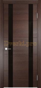 2773, Дверь Турин 06 дуб графит вералинга, остекленная, 22456, 6 990.00 р., 2773-01, , Двери экошпон Премиум