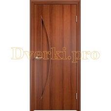 Дверь Тип С-06 итальянский орех, глухое