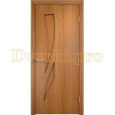 Дверь Тип С-02 миланский орех, глухое