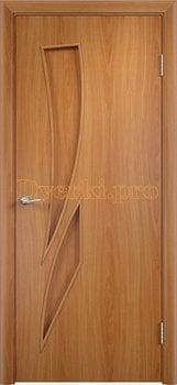 692, Дверь Тип С-02 миланский орех, глухое, 12221, 1 970.00 р., 692-01, , Двери в финиш-пленке