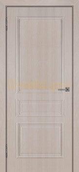 3511, Дверь Римини (объемный багет) крем, глухая, 27023, 3 920.00 р., 3511-01, , Двери облицованные ПВХ