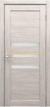 3836, Дверь X-6 лиственница белая, остекленная, 29632, 3 645.00 р., 3836-01, , Двери экошпон Стандарт