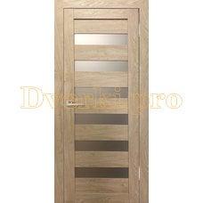 Дверь Бавария 03 3Д-Люкс ясень сонома, остекленная