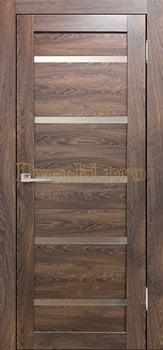 3613, Дверь Бавария 15 3Д-Люкс ясень таволато, остекленная, 27525, 3 065.00 р., 3613-01, , Двери экошпон Лайт