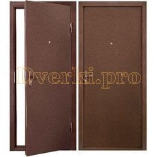 Металлическая дверь K-СТРАЙК Мет+Мет (ППС)