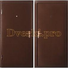Дверь металлическая F-ГРАФИТ